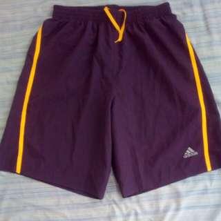 Authentic adidas running shorts