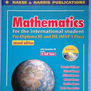 IB Maths SL & HL MYP5 Plus