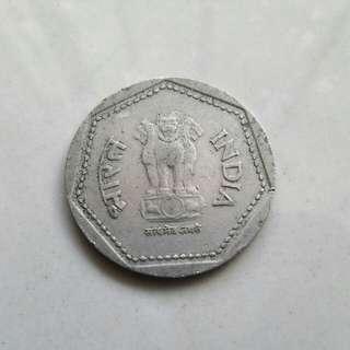 1985 1 rupee