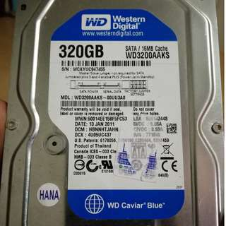 Western Digital 320Gb SATA Full of PC Games Witcher 3 GOTY Nioh