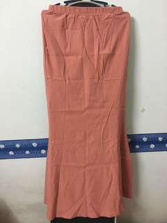 Orange Skirt (Mermaid Cut)