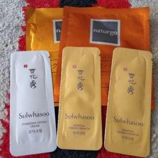 Sulwhasoo sample take all
