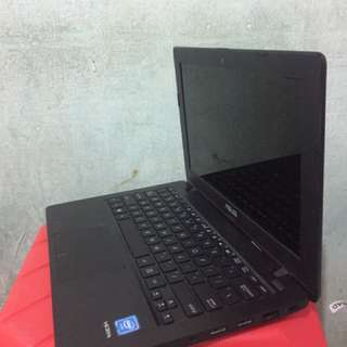 LAPTOP NOTEBOOK 12inch ASUS X200MA Intel Celeron Masih Normal