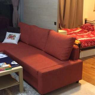 Sofabed - almost new sofa