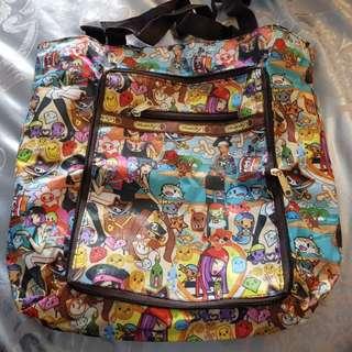 BN Lesportsac Tokidoki Foldable Bag