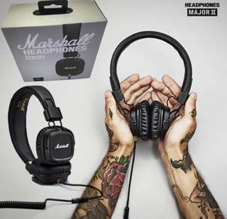 Marshall Major 2 Wired Headphones