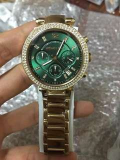 Mk Parker EmerAld Green Face