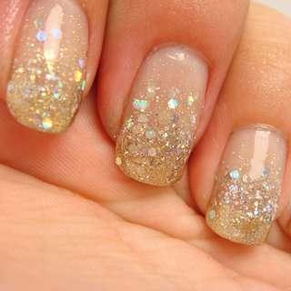 Gradient Glitter Nail Polish