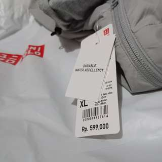 UNIQLO Reversible Parka Grey