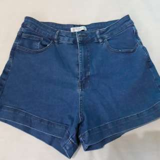 Pull & Bear Highwaist Shorts