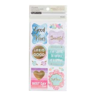 Cool & Warm Sayings Stickers by Recollections