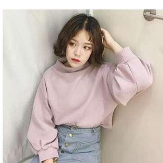(PO) 2 Colours - Ulzzang Pullover