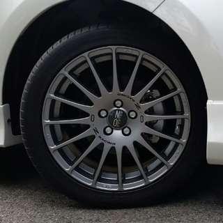Altis 50th Anniversary OZ rims + tires set