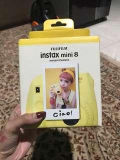 Fujifilm Instax Mini 8 Polaroid Yellow