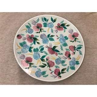 Ruma Manis Hydrangea plate