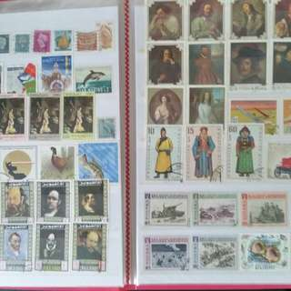 Stamp collection (massive)