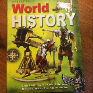 world history, miles kelly