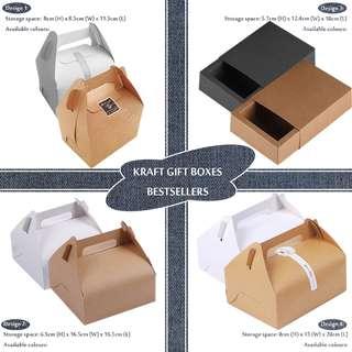 Product Packaging Kraft Box Presentation