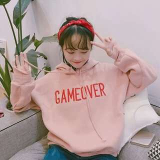 (PO) Ulzzang GAMEOVER Hoodie