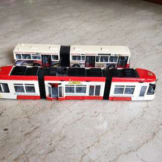 Preloved Toy Bus