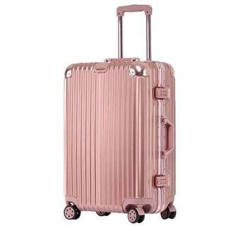 "29"" rose gold luggage"