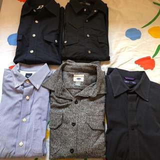 Old navy/Gap long sleeves and polo shirts