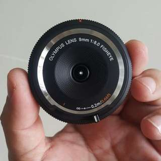 Olympus 9mm fisheye lens