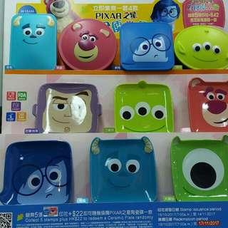 7-11 Disney Pixar 食物盒全套 4 款
