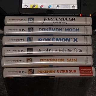 Ds 2ds 3ds Games (Pokemon etc)