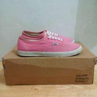 Authentic Vans Pink