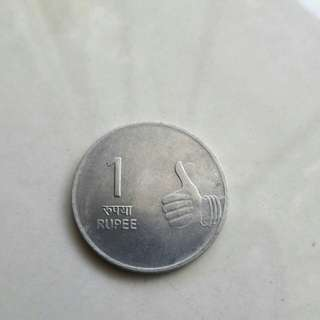 2009 1Rupee India