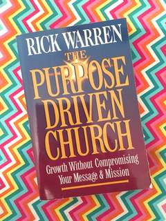 Charity Sale! The Purpose Driven Church by Rick Warren book