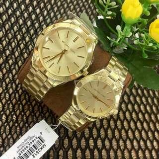 Mk slim couple watches