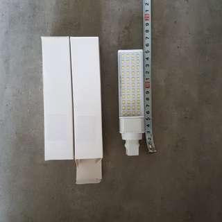 Mengs G24 8W LED - Warm white (2xbulbs)