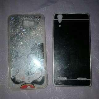 Case samsung j5 prime & mirror case lenovo a6000