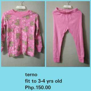 Terno for girls