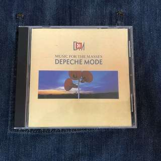 Depeche Mode-Music for the masses