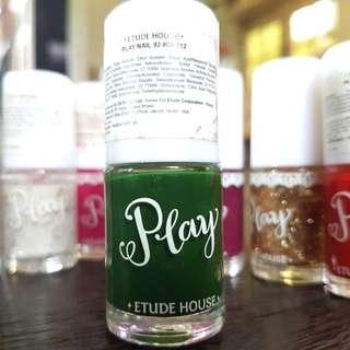 Kutek hijau play nail