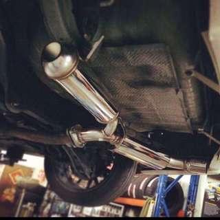 HKS Exhaust Lancer ex