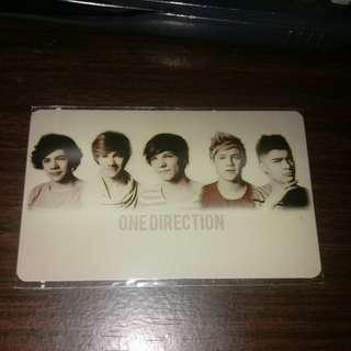 One direction ezlink card sticker free postage