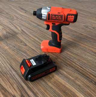 Black and Decker BDCI20C 20V Cordless Drill