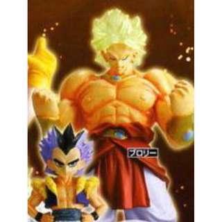 龍珠 超造形魂 其之五 布洛尼 博洛連  第五大超級撒亞人 MINI FIGURE DRAGON BALL SUPER Z