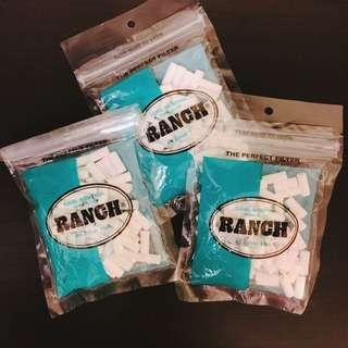 Ranch Filter Tips 薄荷手捲煙濾咀