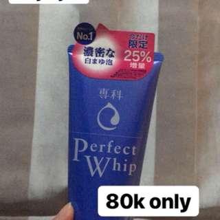 Shiseido Senka Perfect Whip extra 25%