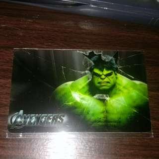 Hulk ezlink card sticker free postage