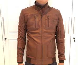 Jaket kulit asli custom made