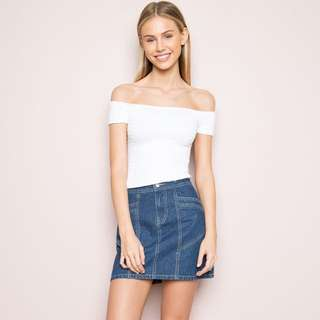 Brandy Melville Charlene Off the Shoulder Top