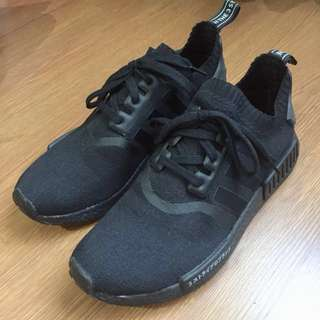 ADIDAS NMD R1 PK TRIPLE BLACK JAPAN