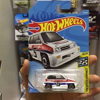 Hot Wheel 85 Honda City Turbo II Hotwheels