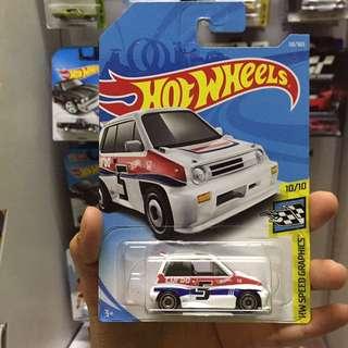 Hot Wheel 85 Honda City Turbo II Hotwheels